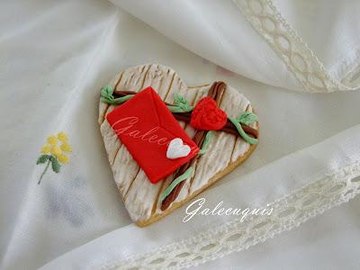 Galletas decoradas San Valentín