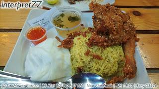 Gambar Nasi Khaumok di kedai makan FizoMawar Kitchen Bandar Baru Bangi
