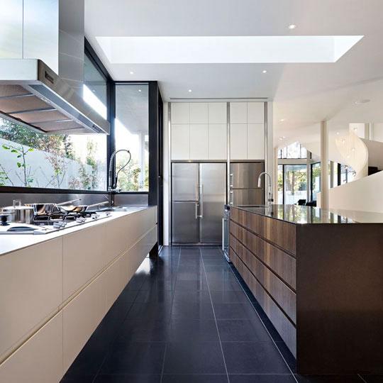 Decoraci n minimalista y contempor nea casa moderna y for Casa minimalista roja
