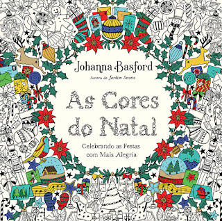As Cores do Natal, Johanna Basford