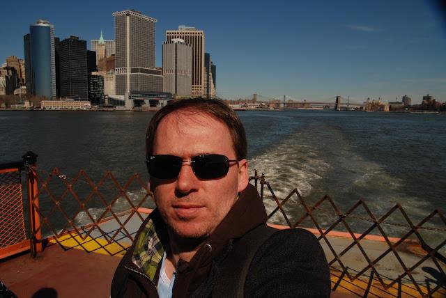 selfie Staten Island Ferry
