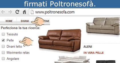 Risparmiello poltronesof divani in vera pelle prezzi - Poltronesofa catalogo ...