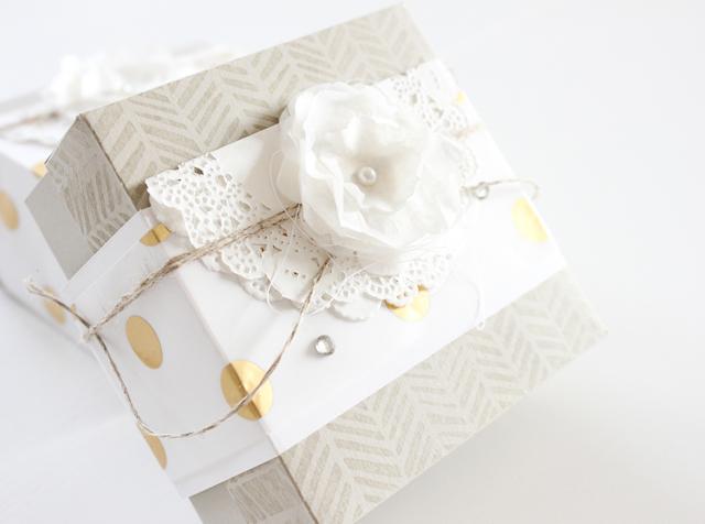 Elegante Geschenkbox in 5 Minuten