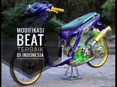 modifikasi honda beat13 terbaru