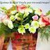 Λουλούδια με ευχές για ονομαστική εορτή και γενέθλια....giortazo.gr