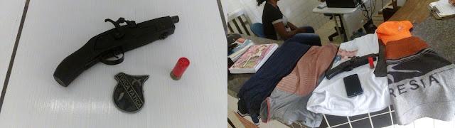 Em Chapadinha, Menor rouba celular de estudante, é perseguido e acaba apreendido pela PM