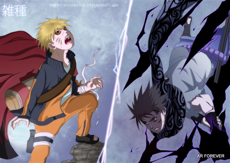 naruto vs sasuke by hulfblood d4etuln