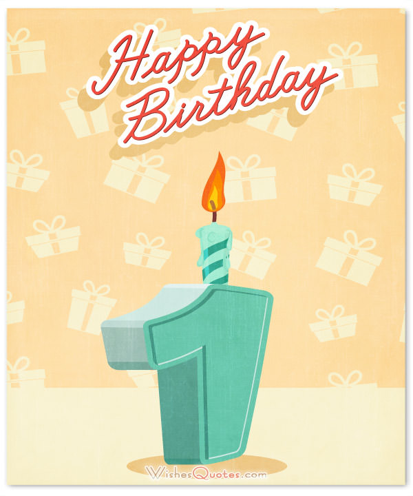 Baby 1st Birthday Wishes Messages And Quotes Really Good Happy Birthday 1st Year Wishes