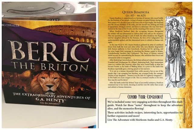 Beric the Briton an Audio Theater productoin from Heirloom Audio Productions