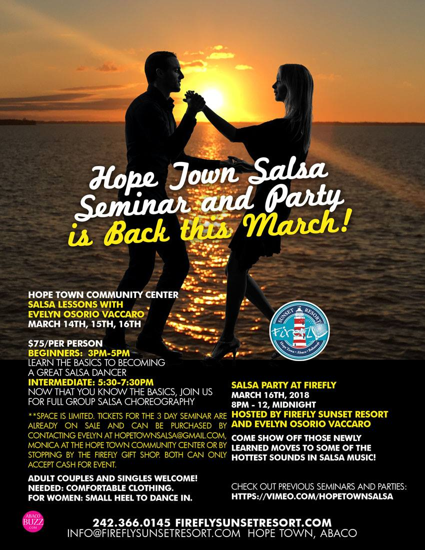 Hope Town Salsa Party At Firefly Sunset Resort