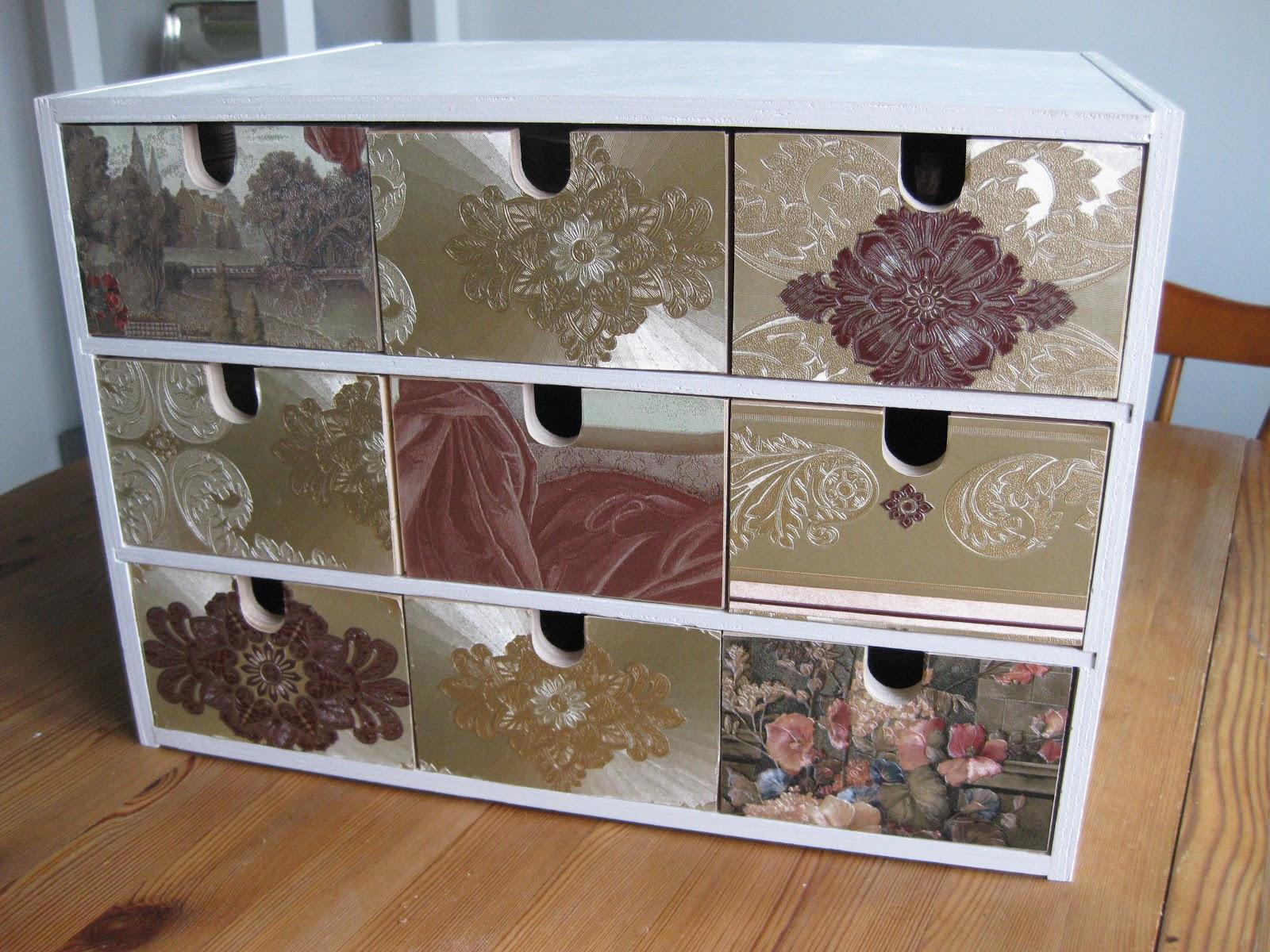 Mini Cassettiera Fai Da Te seaseight design blog: diy // ikea moppe // the mini chest