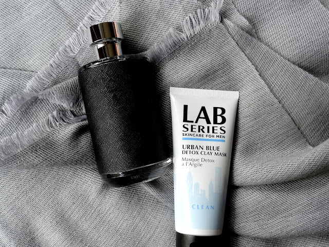 CEW Beauty Awards Men's Finalists - Prada L'Homme, Lab Series For Me Urban Blue Detox Clay Mask