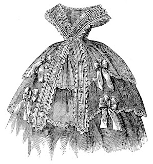 dress antique fashion victorian digital download image