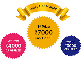 win cash prizes online for free in india