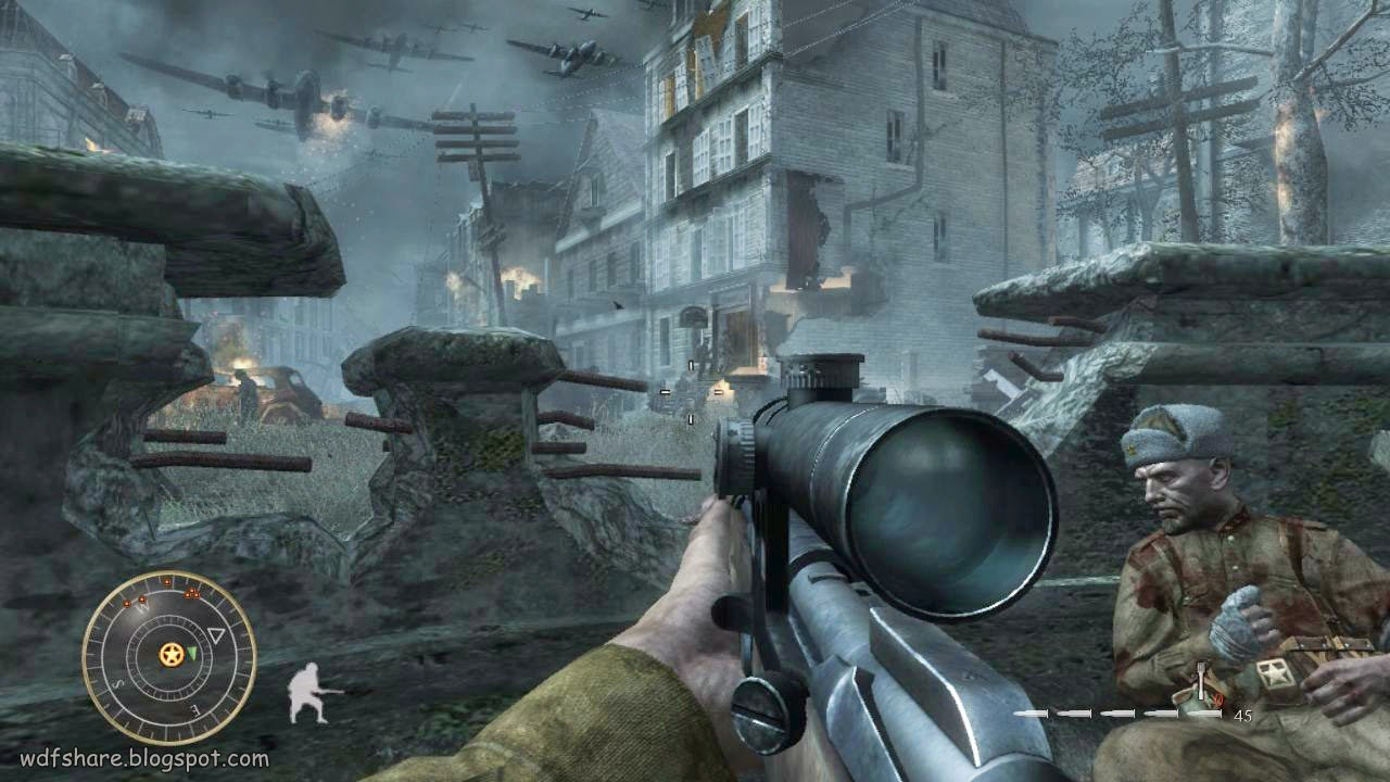Call of Duty World at War Full Portable