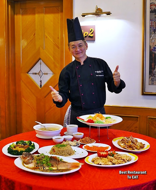 Grand Bluewave Hotel Shah Alam - Tung Yuen Chinese Restaurant - Chef Patrick Ng