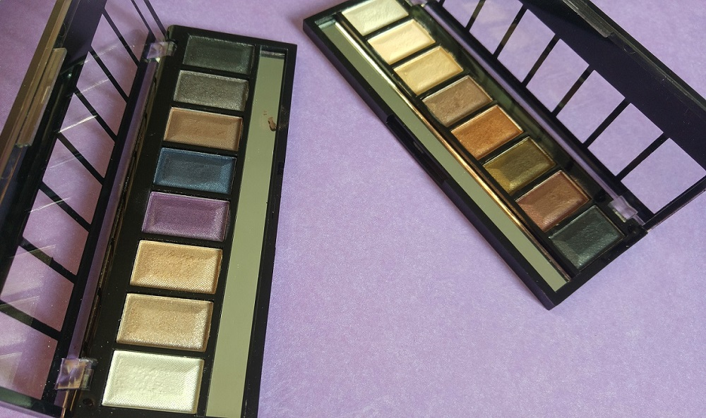 Palettes Action Max & More Nude Look et Smokey Eyes