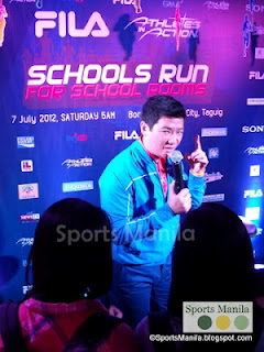 Host Tim Yap