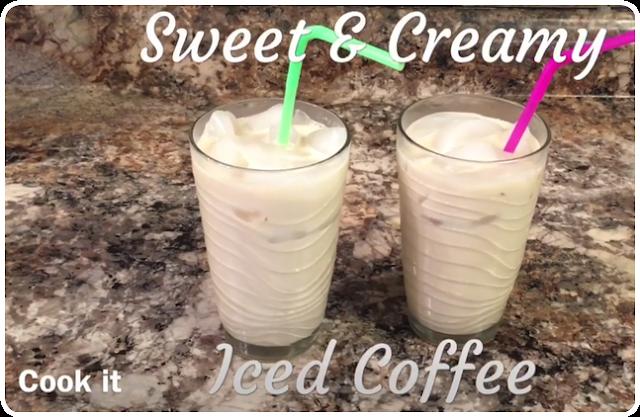 Sweet & Creamy Iced Coffee Recipe