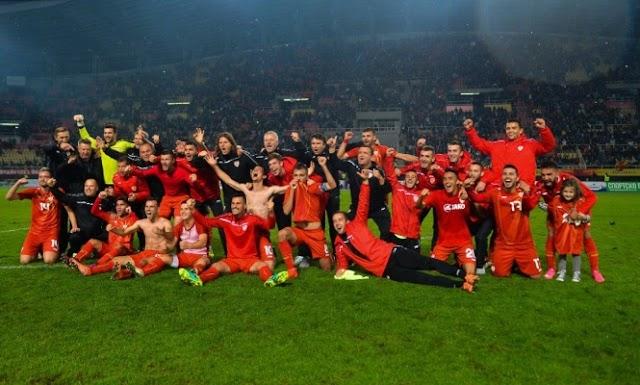 Fußball U21: Mazedonien nach Portugal mit längster Serie in Europa