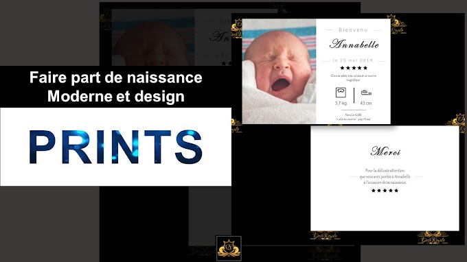 04 Free Templates for baby birth announcement -  custom with Powerpoint