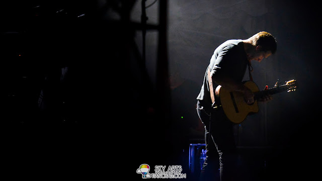 The only light that shines on Zack Filkins - OneRepublic Native Live in Malaysia 2013