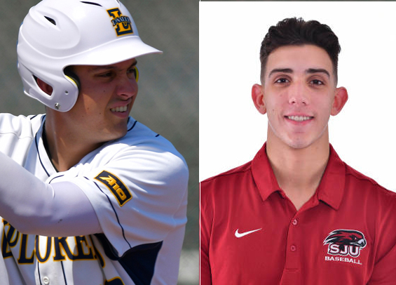 Faso and DIValerio named D-I Philadelphia Baseball Review Players of the Week