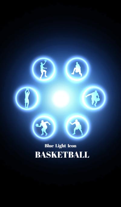 Blue Light Icon BASKETBALL