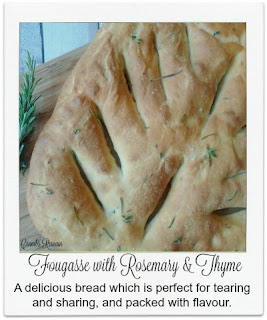A delicious bread which is perfect for tearing and sharing.  It's straightforward to make and can easily be adjusted to your own specific herb preference.