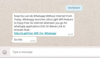 Whatsapp Trick : How To Send WhatsApp Messages Without Internet
