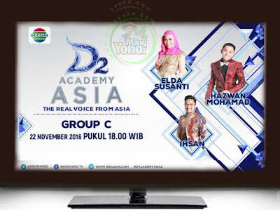 D'Academy Asia 2 ( D'AA 2) Babak 18 Besar Grup C