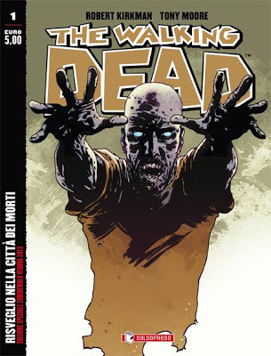 The Walking Dead #1, la cover speciale per la Zombie Walk di Verona