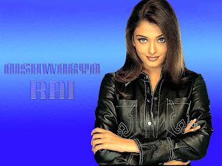 Aishwarya Bachchan In Black Leather Suit