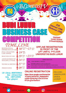 Budi Luhur Business Case Competition 2017