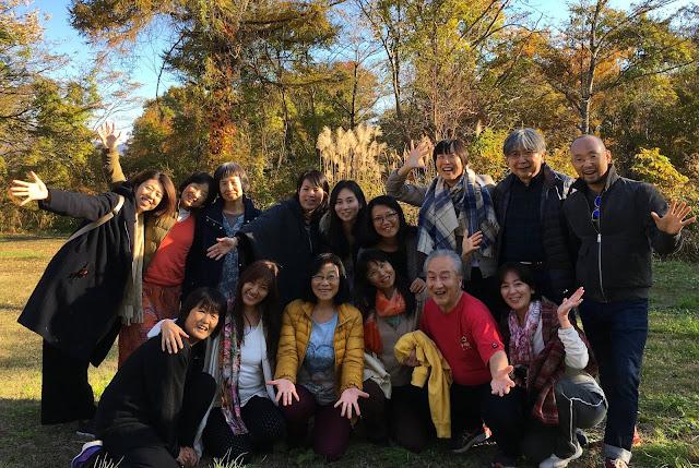 2018年秋の参加者の皆さんの写真