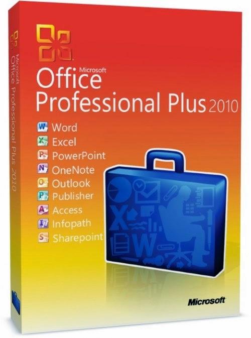 Microsoft office 2010 professionalplus with sp1 vl edition
