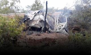 Identificados os três mortos na BA-144