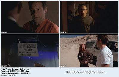 The X Files - Los Expedientes Secretos X - 9x19 The Truth I y II - La verdad - Episodio Doble