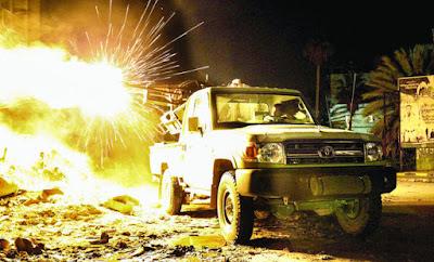 East Libyan fighter jet crashes outside Tobruk, 4 killed