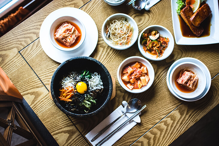 Picture of Korean food