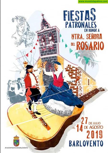 Fiestas Patronales en honor a Ntra. Sra. del Rosario 2019 en Barlovento -Programa