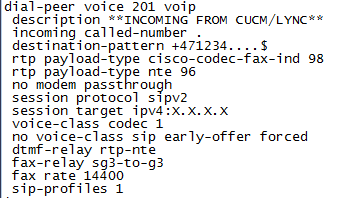 UC - From my point of view: Lync in coexistence with CUCM part 5