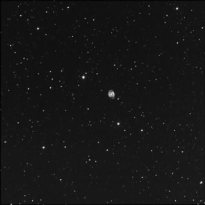 RASC Finest planetary nebula NGC 40 luminance