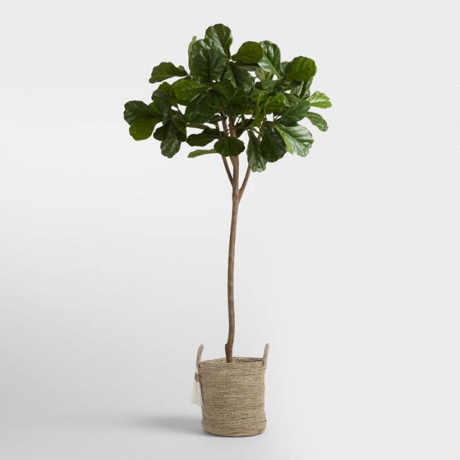Artificial Fiddle Leaf from World Market