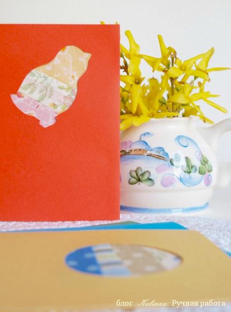 decor, открытка, Пасха