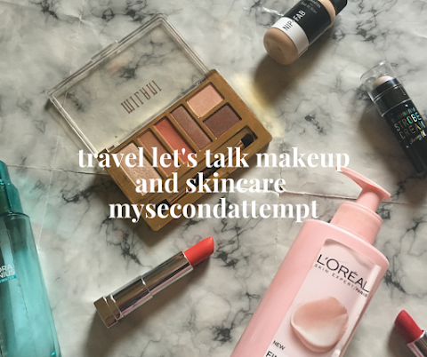 Travel Essentials: Makeup and Skincare