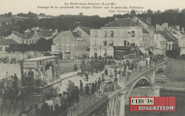 la grande parade du Cirque Pinder