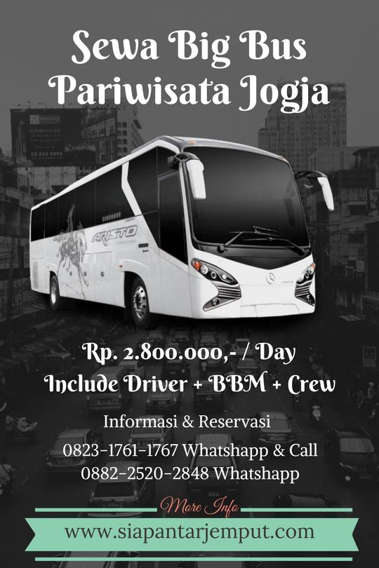 Sewa Big Bus di Jogja || Sewa Big Bus Pariwisata di Yogyakarta