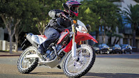 Honda Crf250l on the street