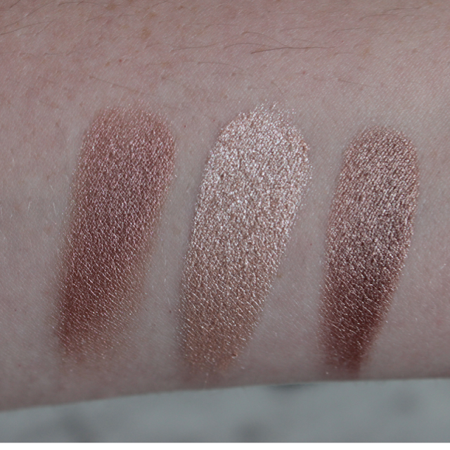 Flirting Game, Satin Corset, Faux Fur Jacket - Sephora Collection Single Shimmer Eyeshadows